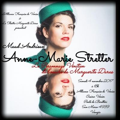 Maud Andrieux, Anne-Marie Stretter, TMD, Marguerite Duras, Le Vice-consul, Le ravissement de Lol V. Stein