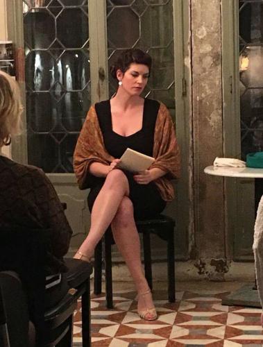 Maud Andrieux,  Anne -Marie Stretter,  Alliance Francaise de Venise, Duras