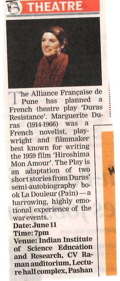 Duras Times of India 11 June 2016 AF Pune.jpg